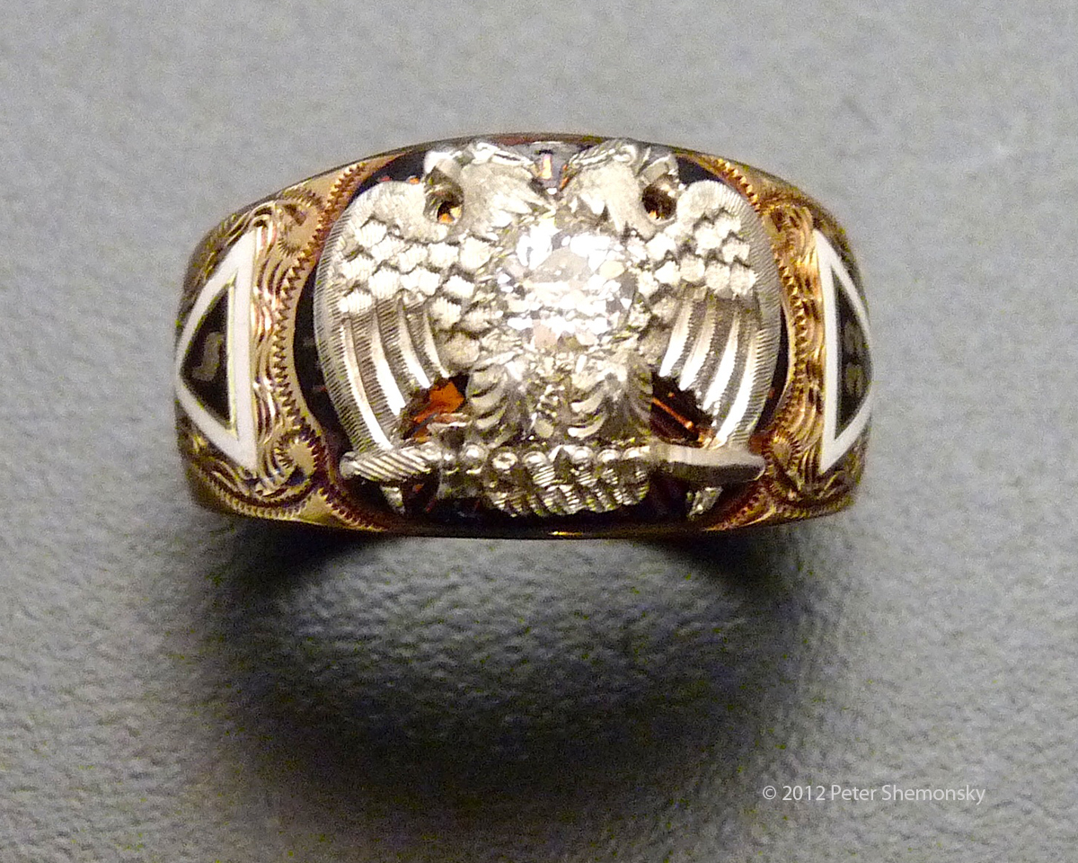 Antique Masonic Rings