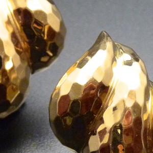 Eighteen Karat Yellow Gold Earrings-Henry Dunay